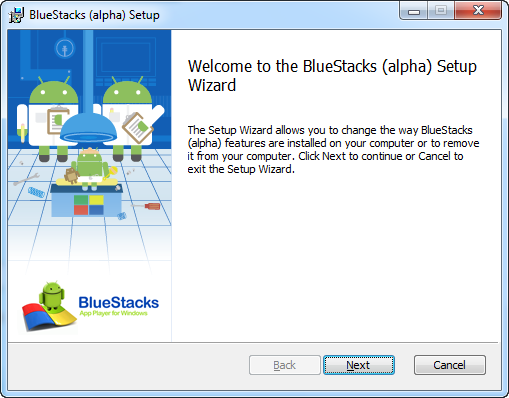 Instalasi Bluestack