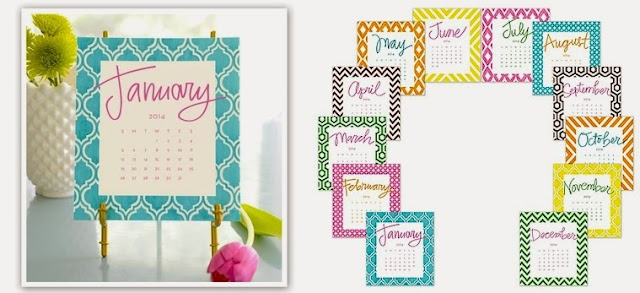 Desktop Calendars by Stacy Claire Boyd