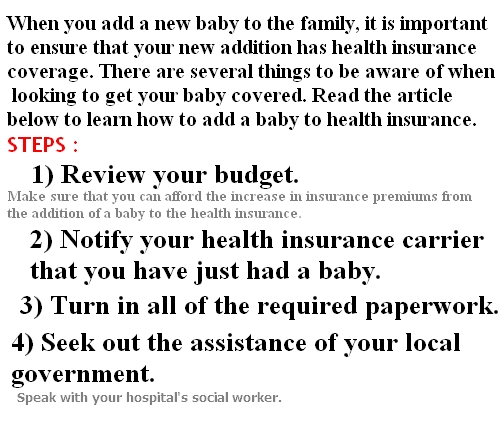baby health insurance