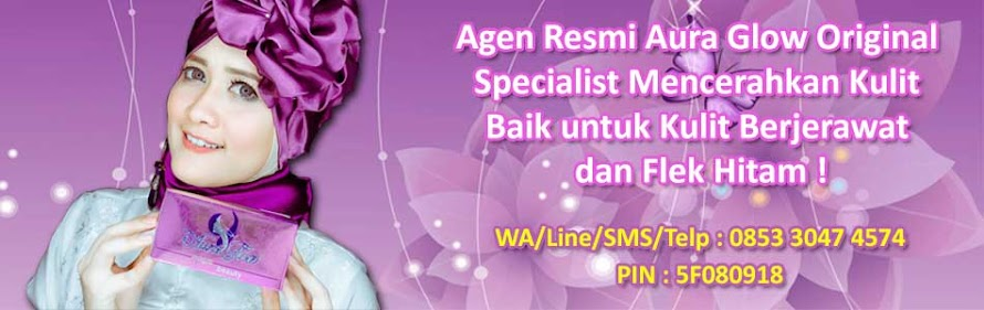 Jual kosmetik aura glow skincare magic cream specialist tempat perawatan pemutih muka
