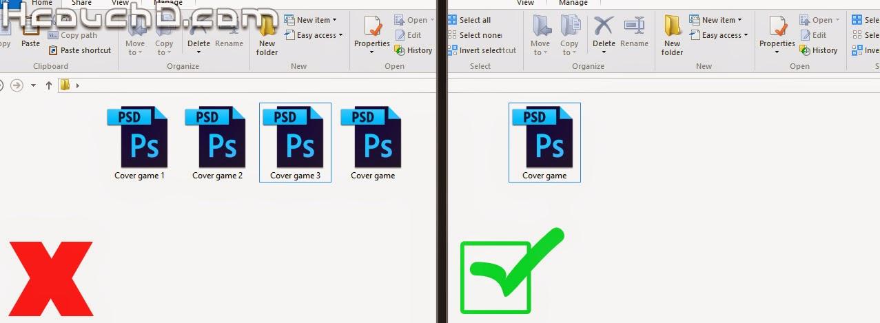 6 - عمل على ملف واحد بدلا من عدة ملفات PSD :