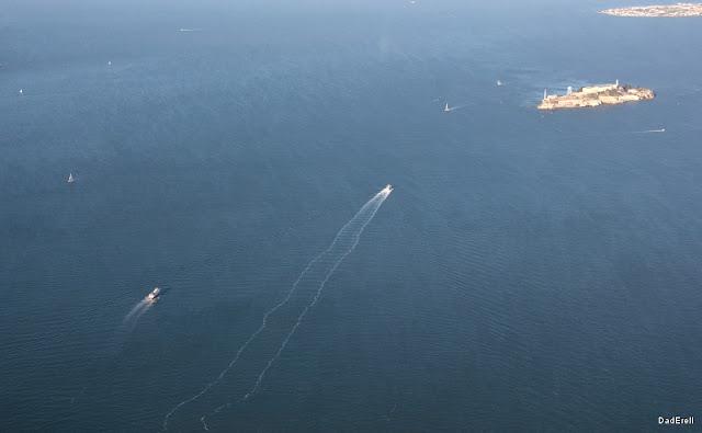 Bateaux dans la Baie de San Francisco