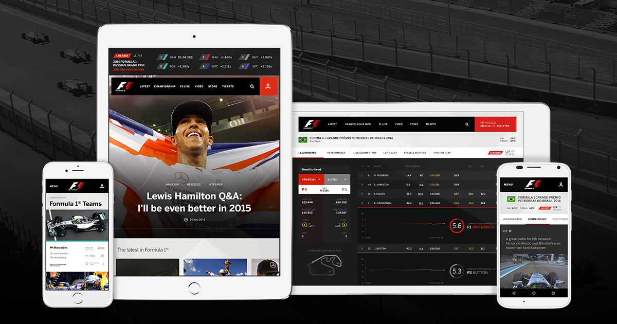 Formula 1 TV - VIP Pass