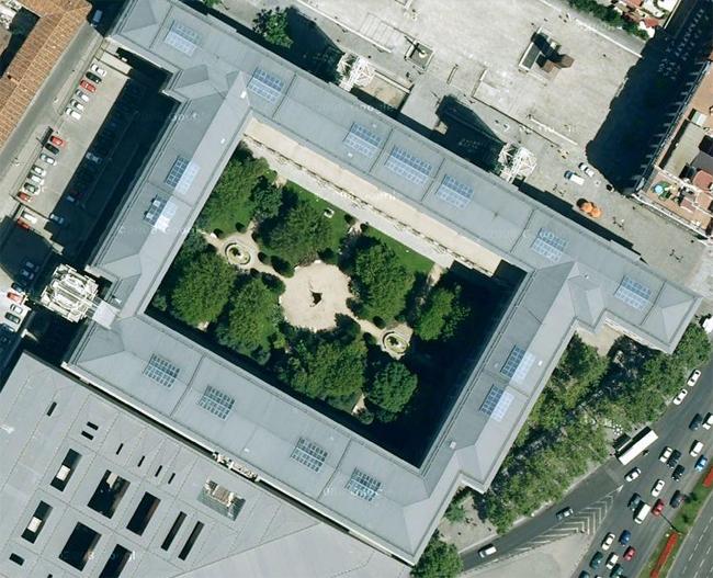 Jardines del centro de arte reina sof a en madrid for Jardines terapeuticos en hospitales