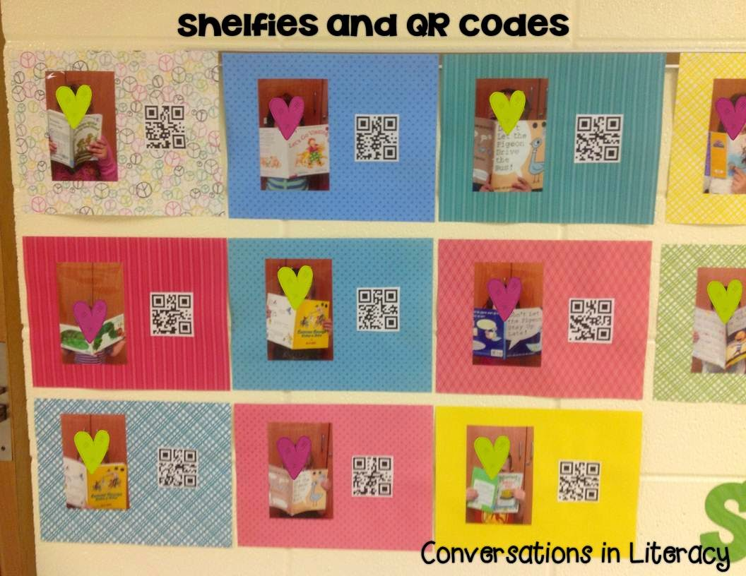 Favorite books from the Shelf and QR Codes
