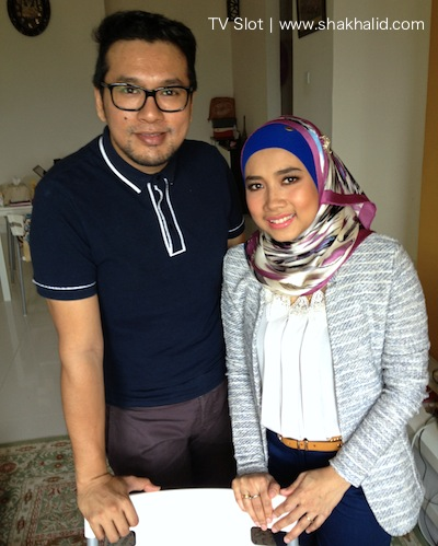 premium beautiful sha khalid with tiar zainal