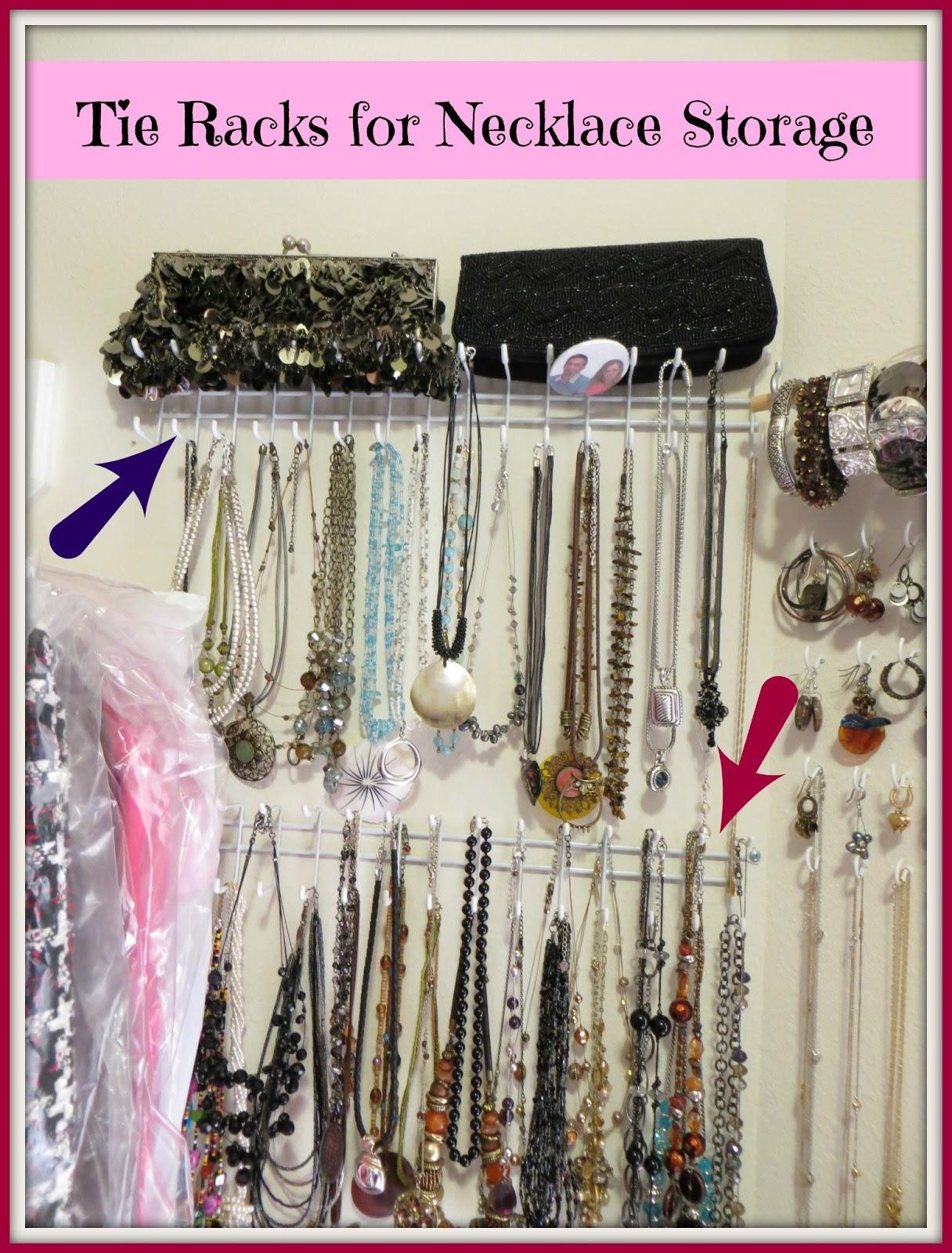 Crafty in Crosby Easy Jewelry Storage