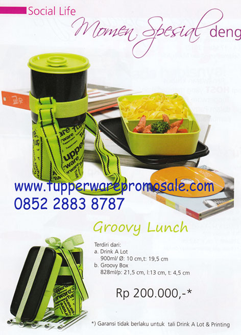 Groovy Lunch Set Rp 145.000
