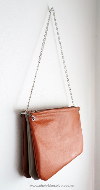 DIY trio zipped bag