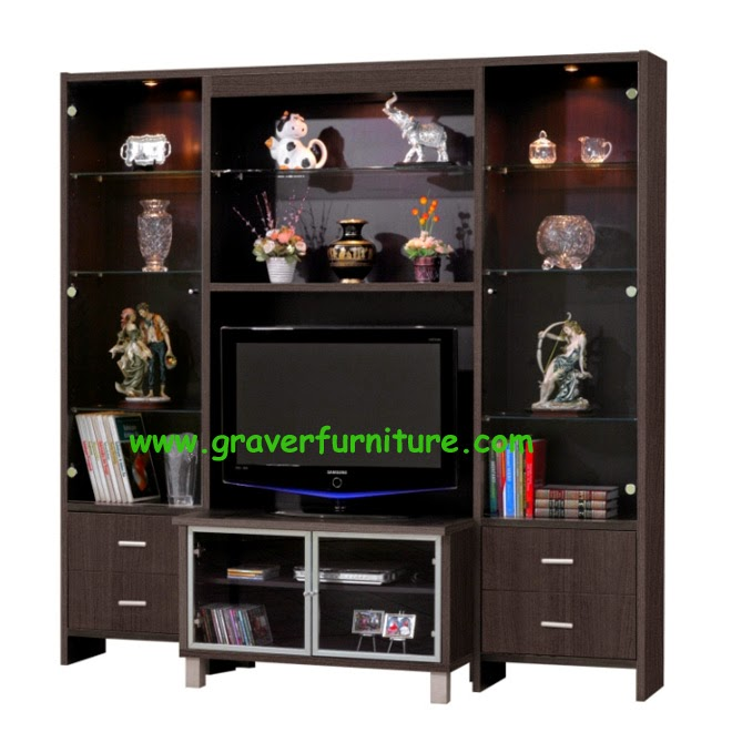 Lemari TV LVR 2830 Graver Furniture