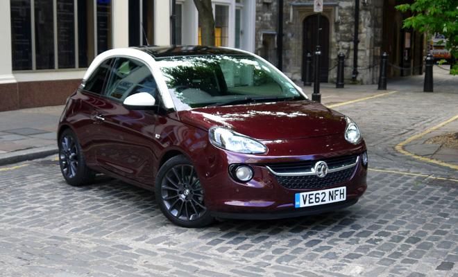 Vauxhall Adam front view