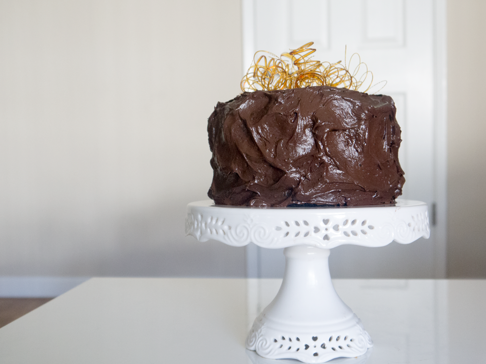 Midnight Dark Chocolate Cake