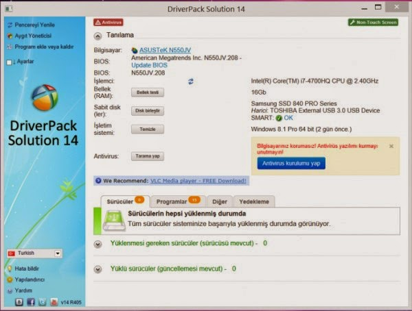 DriverPack Solution V14 R405 Final Full Edition + DriverPack's 14.02.0