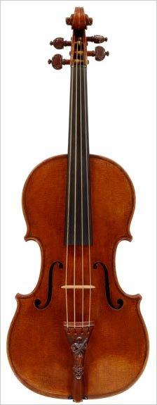 Lady Blunt violin - Stradivarius