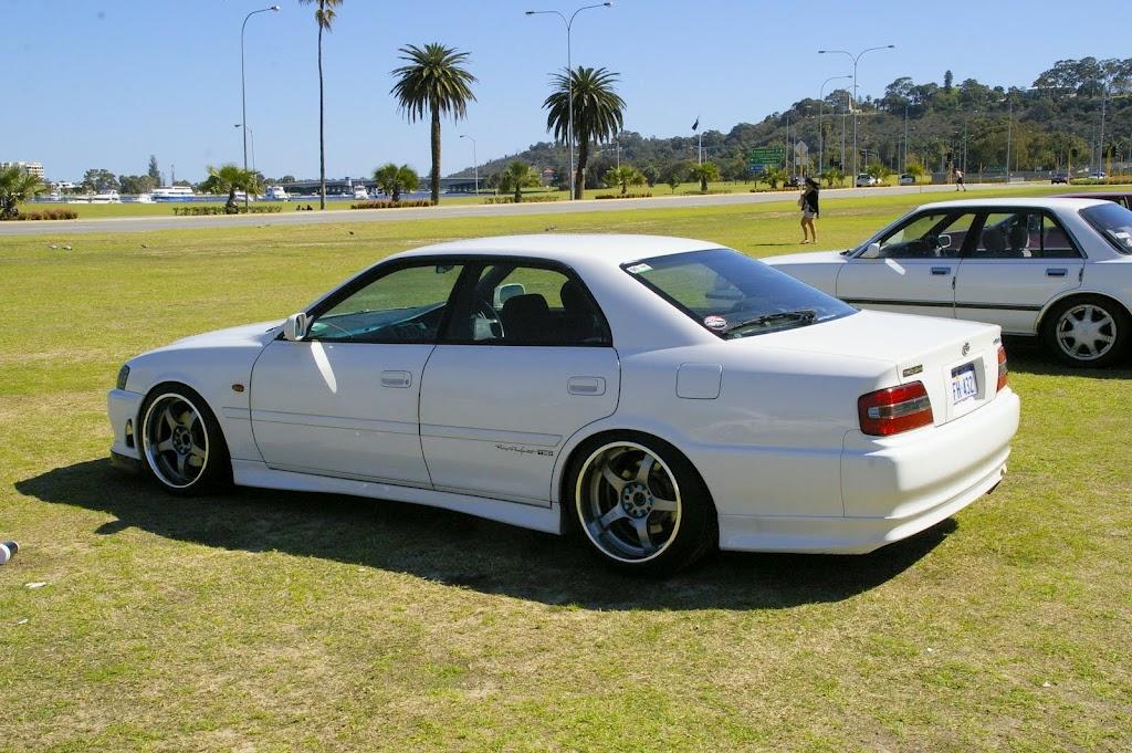 Toyota Chaser X100, 1JZ, JZX100, driftowóz, tuning, RWD, zdjęcia, 日本車, チューニングカー, ドリフト走行, トヨタ チェイサー, japoński samochód, sedan, sportowy