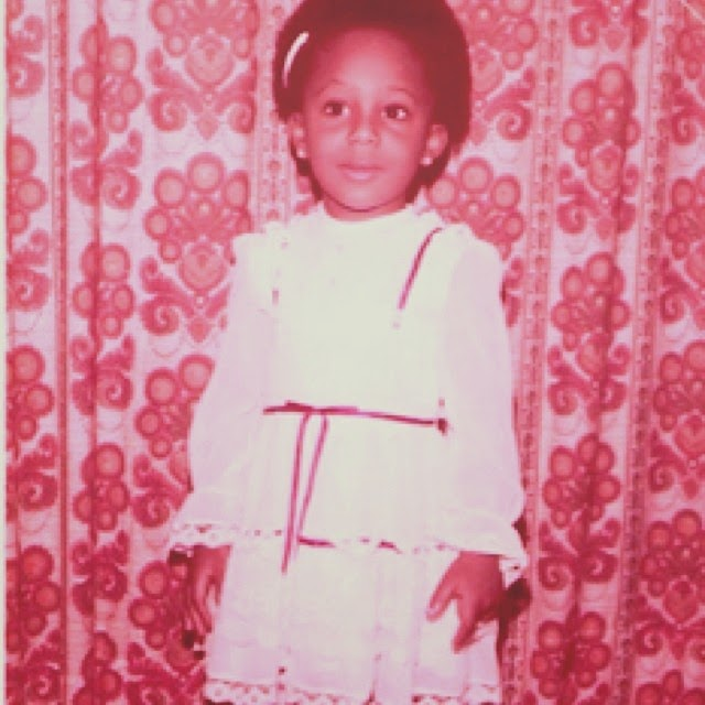 Dakore as a little girl