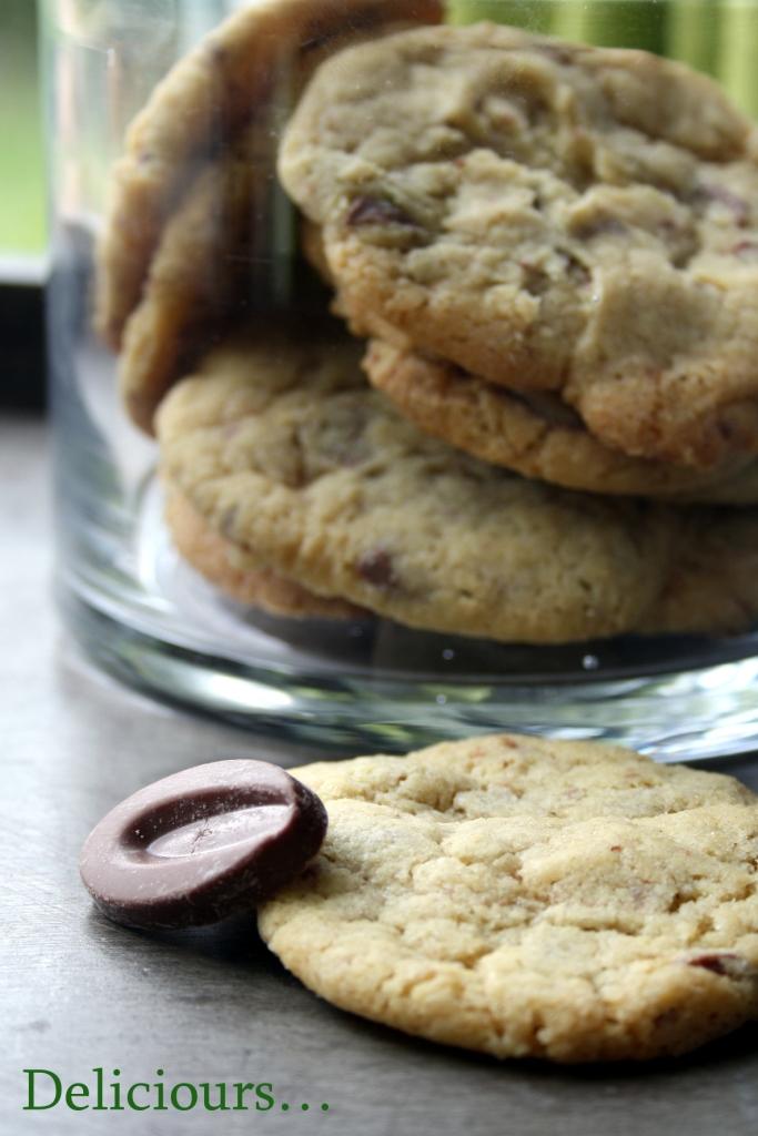 deliciours cookies au chocolat au lait citron gingembre. Black Bedroom Furniture Sets. Home Design Ideas