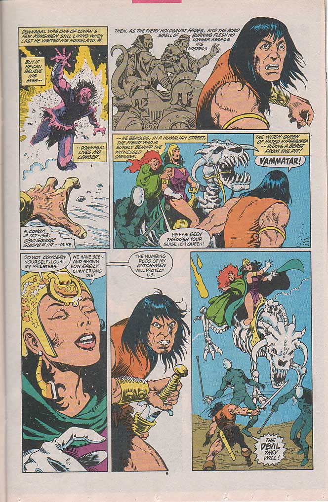 Conan the Barbarian (1970) Issue #257 #269 - English 8