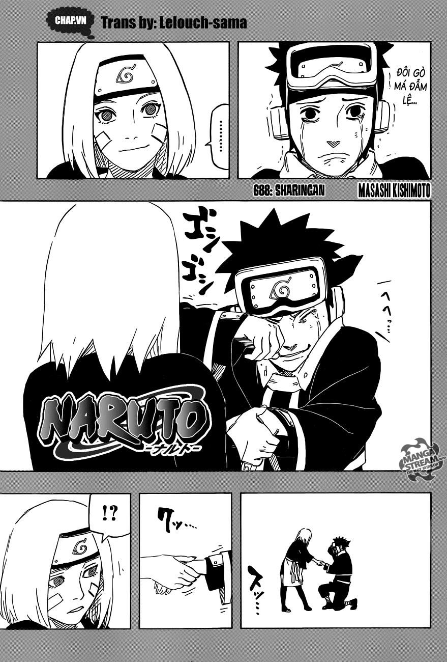 Naruto chap 688 Trang 1