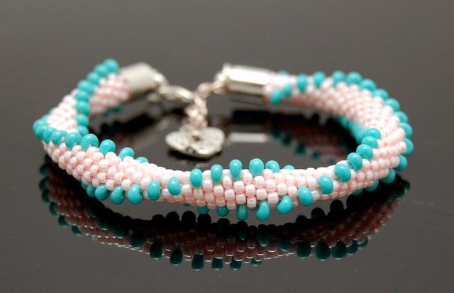 bransoletka koralikowa bead crochet bracelet inati zare 7