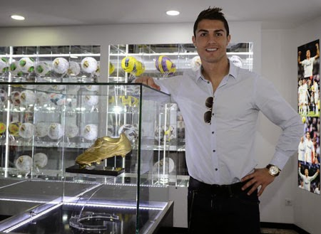C.Ronaldo được trả 80 triệu USD mỗi năm