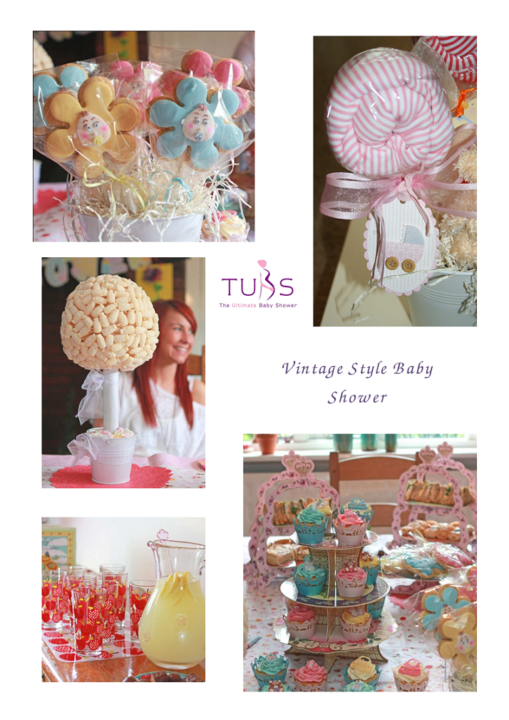Baby Shower Blog Vintage Theme Baby Showers