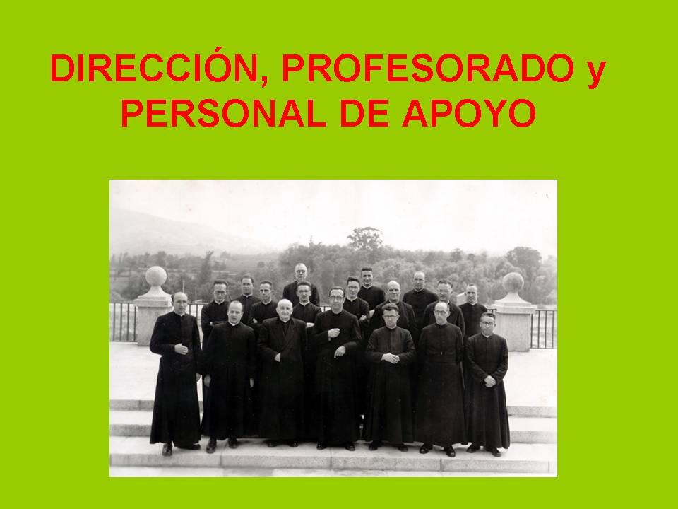 Los PP Jesuitas; los Prfesores...
