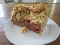rhubarb cake julie green and keen