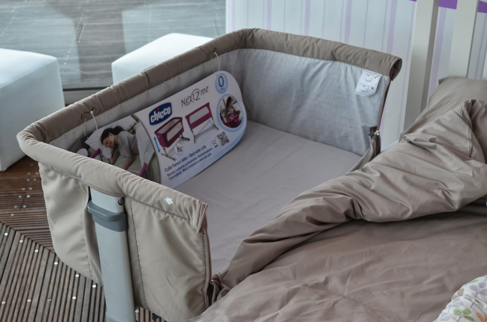 The adventure of parenthood chicco 2014 - Lettino neonato da attaccare al letto ...