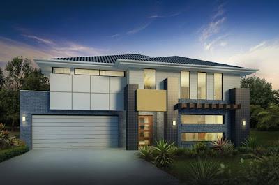 Fachadas de casas modernas con ideas para revestimientos for Disenos de frentes de casas modernas