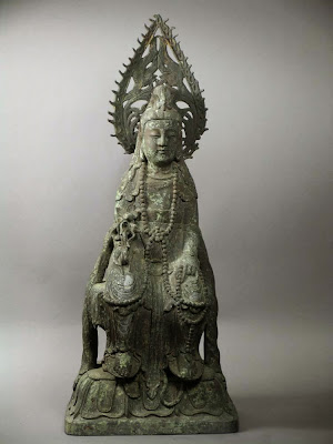 Qing dynasty bronze quanyin