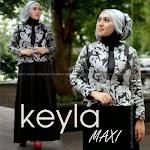 Baju Muslim Gamis Dark Kayla HYD214