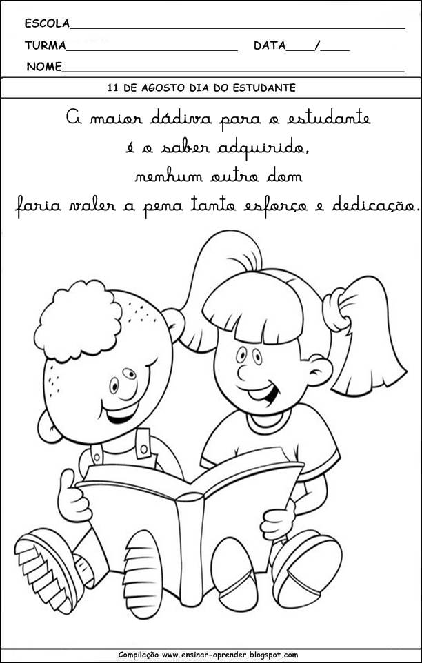 """ Cantinho do Educador Infantil """