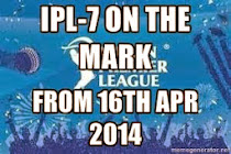 IPL-7 on the Mark From 16th Apr 2014 - United-21 Kanha