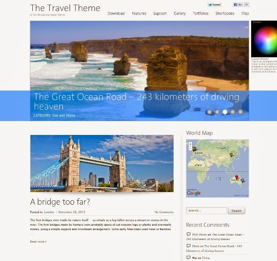 The Travel Theme
