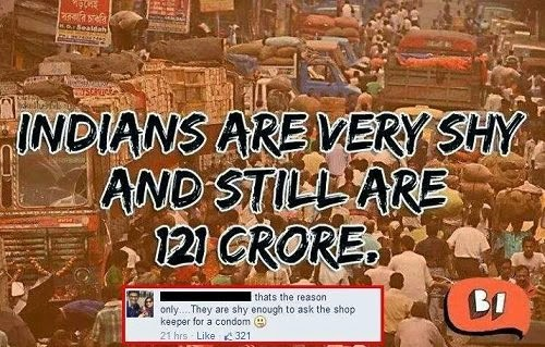 Indian population reason revealed