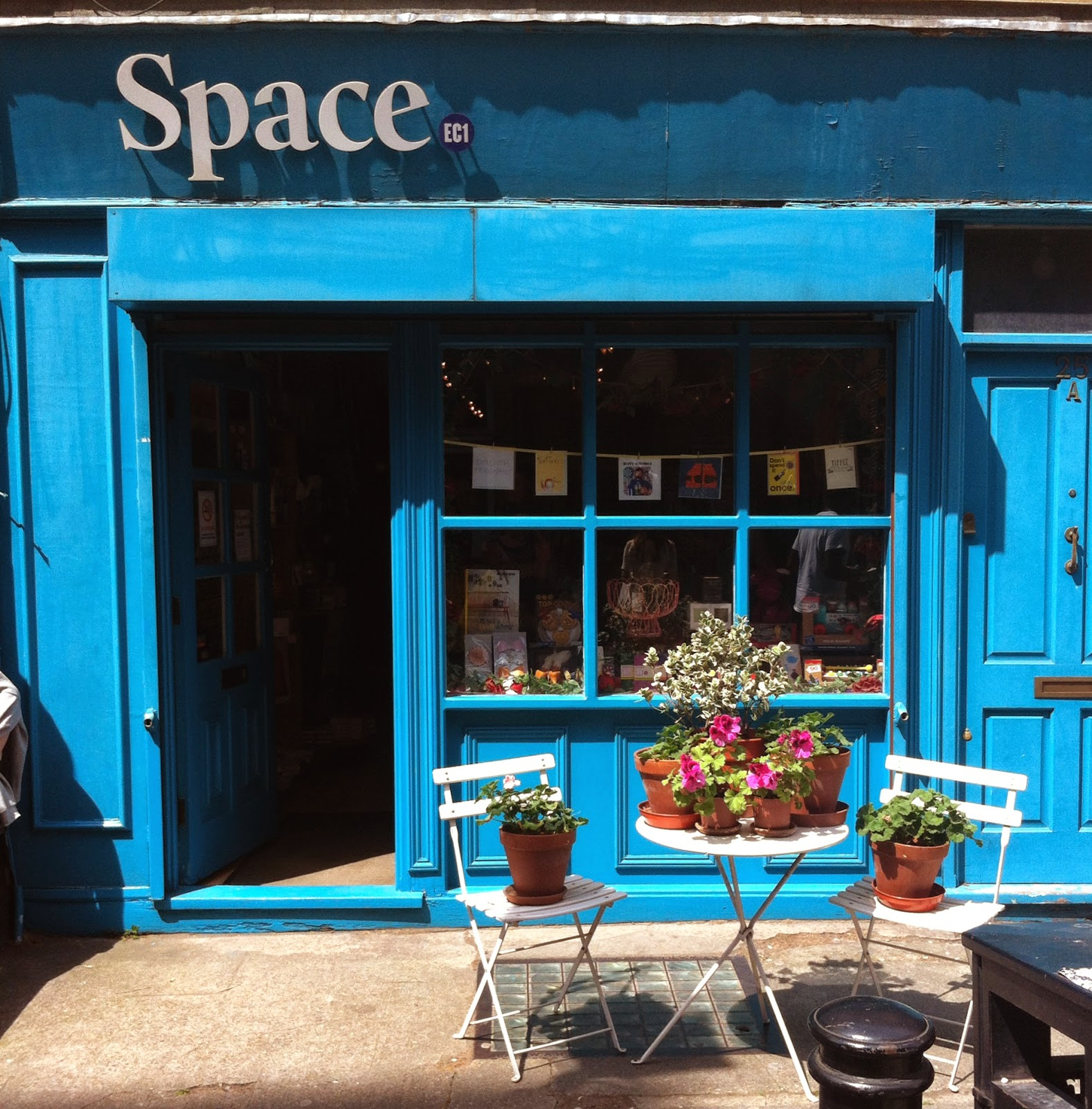 Space Shop front on Exmouth Market