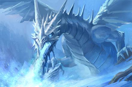 Resultado de imagen para dragon de el hielo