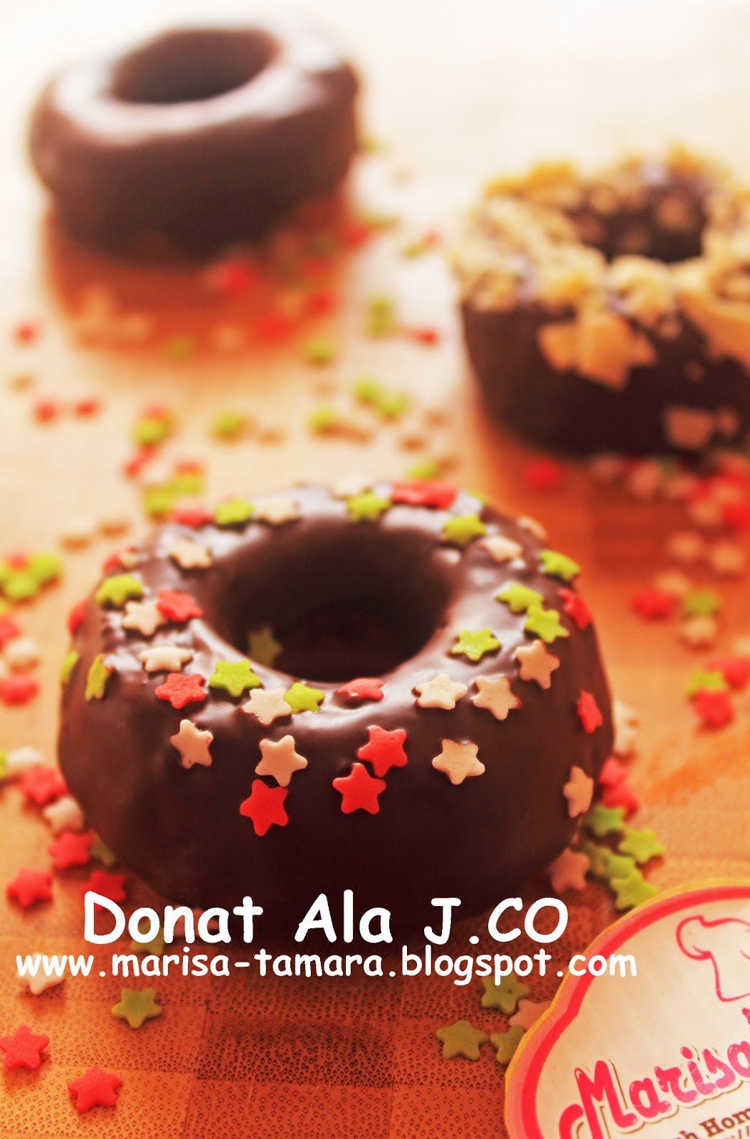 Welcome To Marisa's Kitchen: Donat Ala J.Co