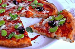 Pizza Fave e Pecorino - lievito madre -