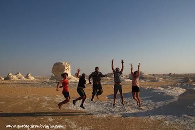 Desierto Blanco - Viaje a Egipto