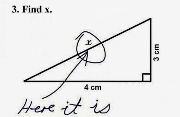 Here Are 25 Kids That Gave Absolutely Brilliant Answers On Their Tests. These Are Hysterically Genius - Simple elegant & hilarious