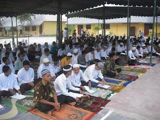 peserta isra' mikraj