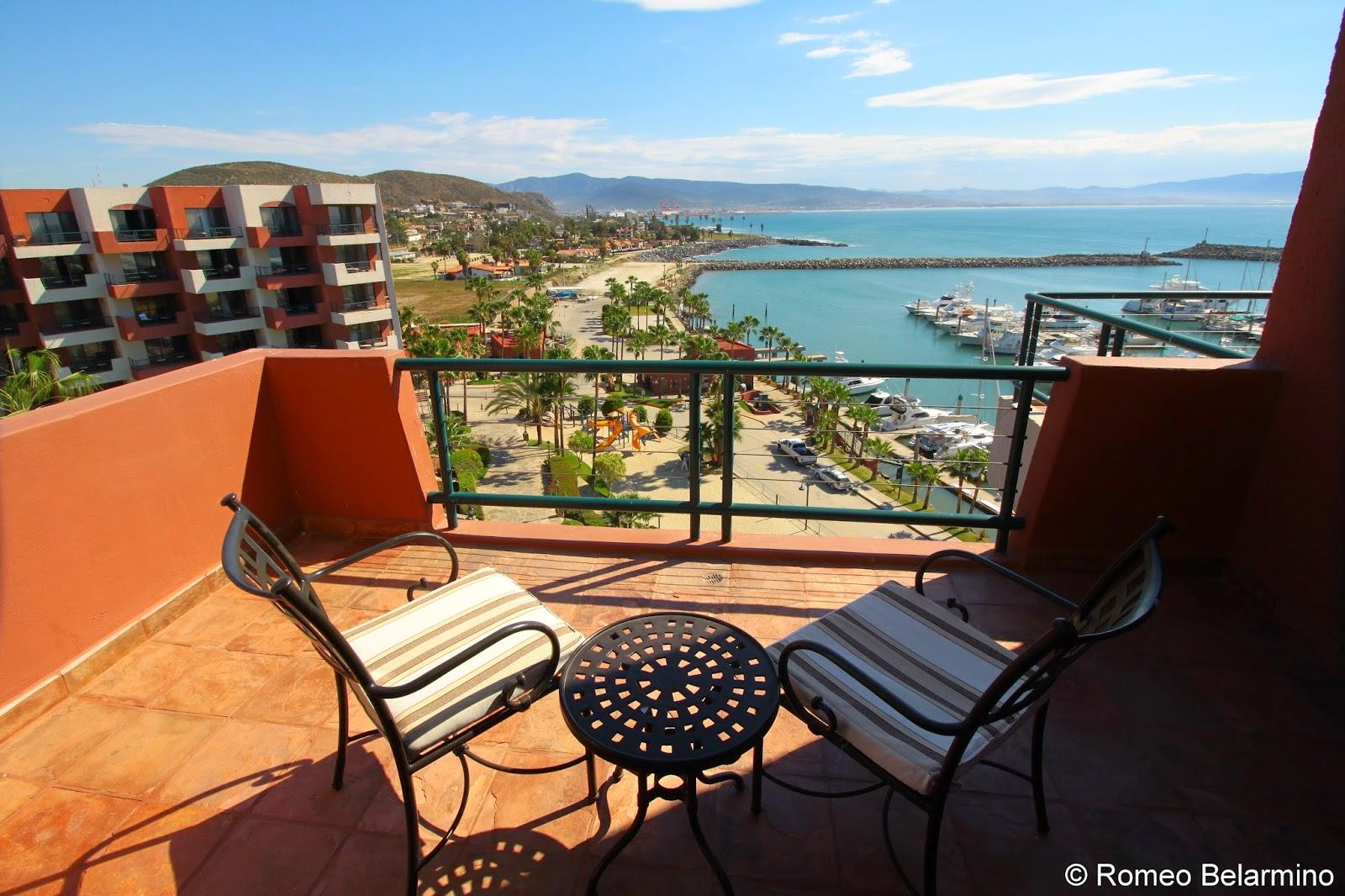 Hotel Coral & Marina Balcony View Ensenada Baja California Mexico