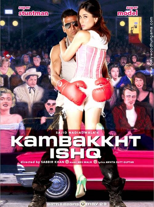 Kambakkht Ishq 2009 480p DVDRip 350mb