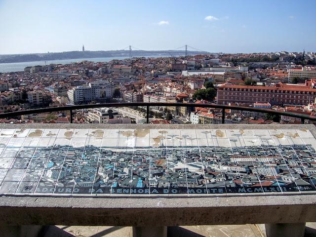 Miradouro da Senhora do Monte em Lisboa