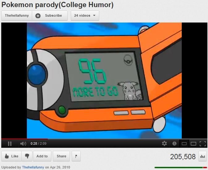 college humor pokemon porn
