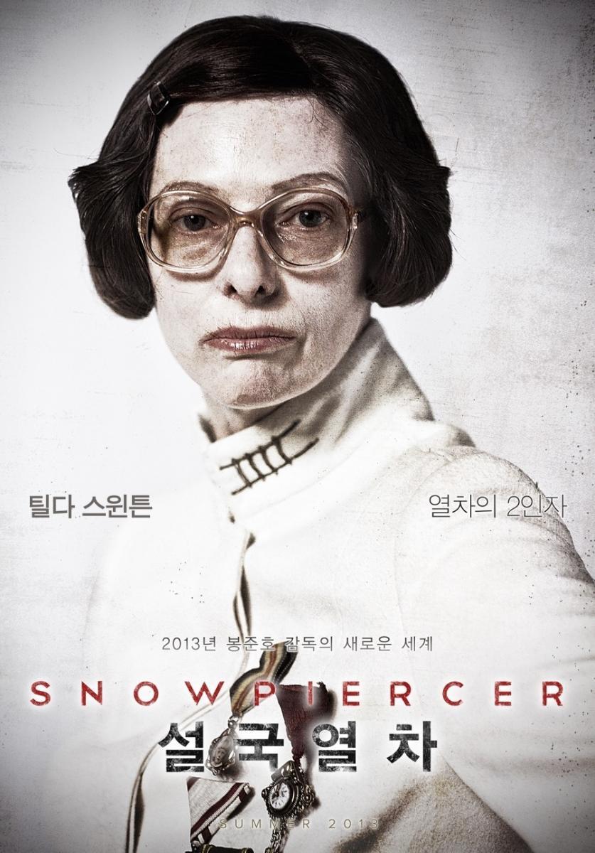 poster snowpiercer Tilda Swinton