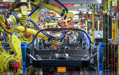 Upgrades at Bowling Green Corvette Plant