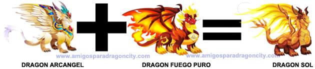 como sacar el dragon sol en dragon city 1
